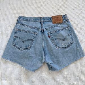 Levi's 501 Denim Cutoff Shorts